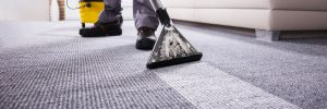 carpet cleaning tech - Brooklyn site clean