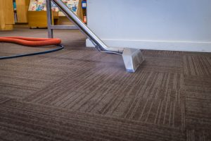 carpet cleaning demo